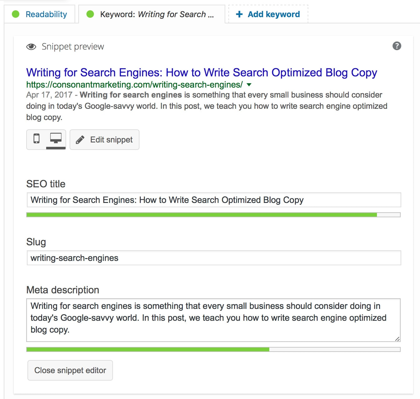 How to write search optimized blog copy