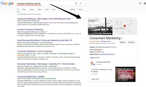 local seo small business blog