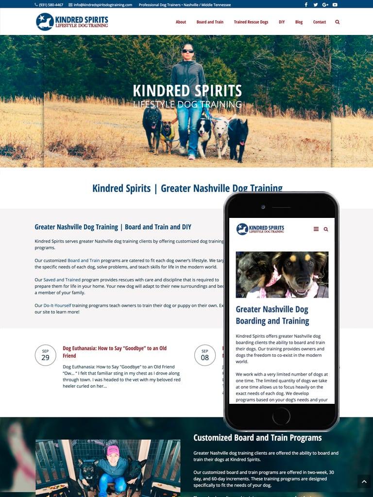 Kindred Spirits Web Design