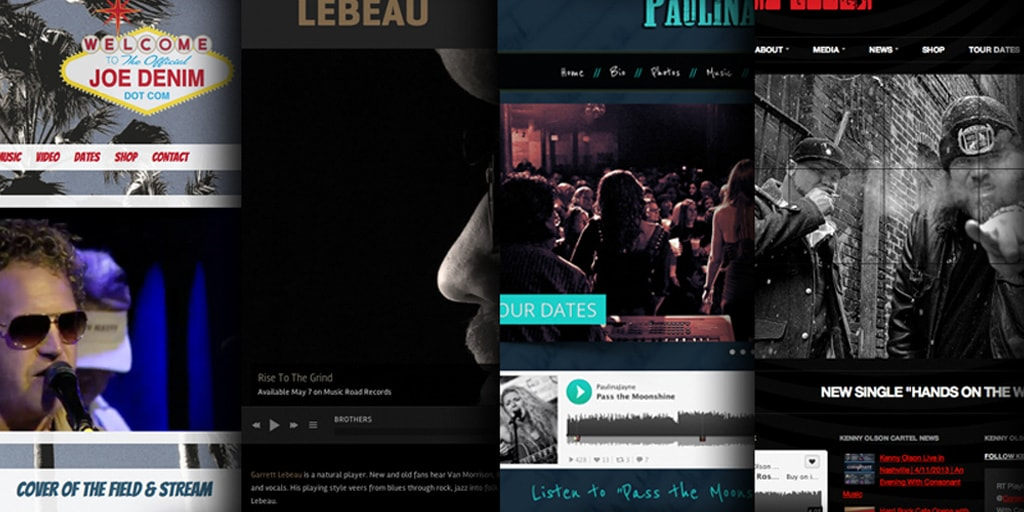 Effective Musician Website Design Traits