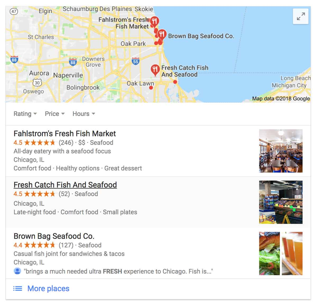 Local SEO - SERP - Local Pack