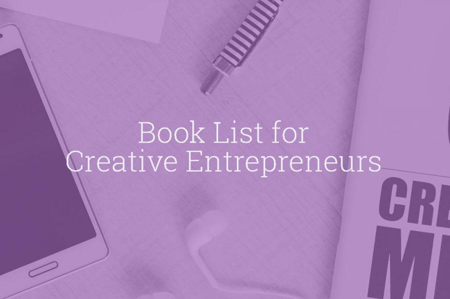 Book List for Creative Entrepreneurs