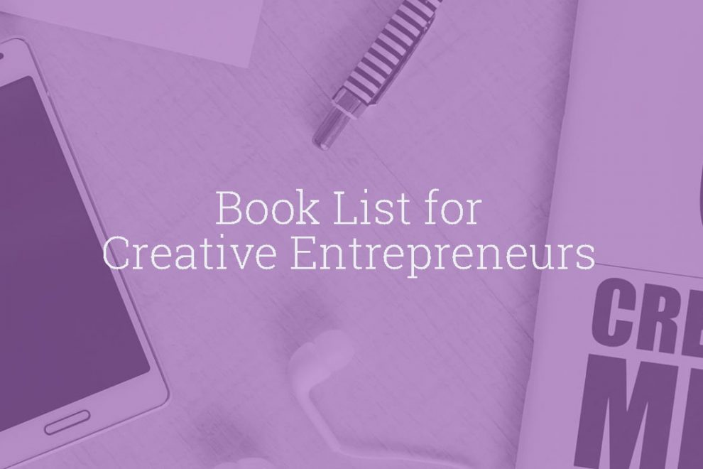 Book List for Creative Entrepreneurs